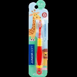 Wellsamed четка за зъби Junior Soft  за деца от 0 до 6 год.