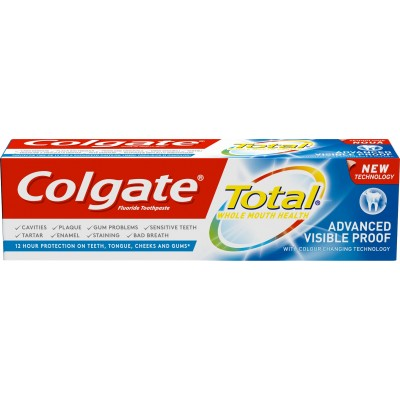 Colgate паста за зъби Total Advanced Visible Proof 75 ml