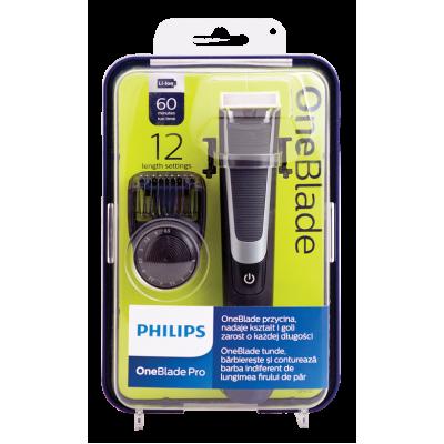 Philips OneBlade хибриден апарат за бръснене и подстригване 6510/20