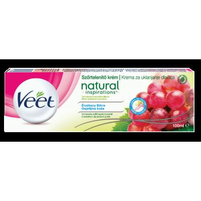VEET крем за тяло с масло от гроздови семена Natural Inspiration 100 ml