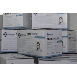 Трислойна предпазна маска Face Mask Comfort х 50 бр. в кутия