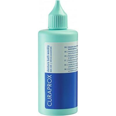 Curaprox разтвор седмичен BDC 105 за протези;
