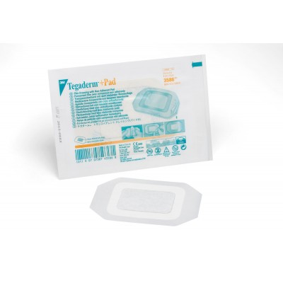 3M Nexcare пластир за рани с незалепващ тампон  Tegaderm 5x7 cm