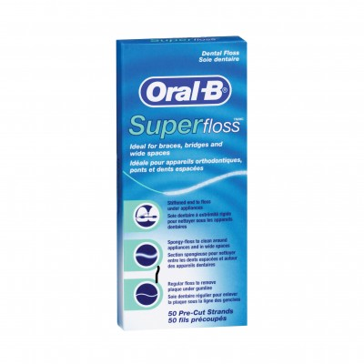 Oral-B конец за зъби  Super Floss