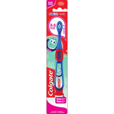 Colgate четка за зъби за деца от 2 до 6 год.  Smiles блистер