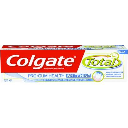 Colgate паста за зъби  Total Pro-Gum Health Whitening; 75 ml