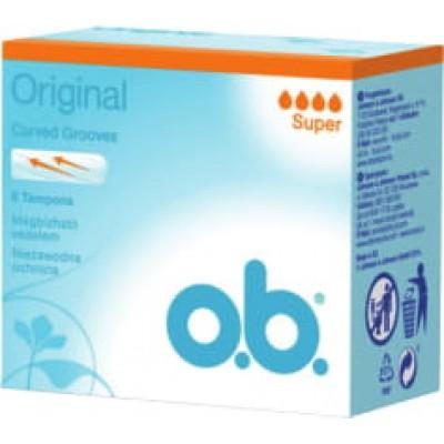 O.B. дамски тампони Super 8 бр. кутия