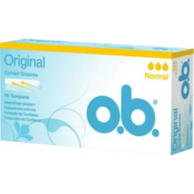O.B. дамски тампони Normal 16 бр. кутия