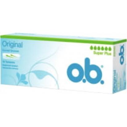 O.B. дамски тампони Super plus 16 бр. кутия