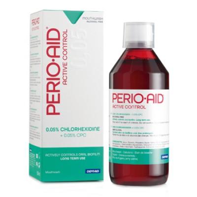 DENTAID вода за уста PERIOAID Active Control 0.05% CHX + 0.05% CPC 500 ml