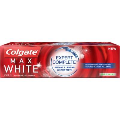 Colgate паста за зъби Max White Expert Complete; 75 ml