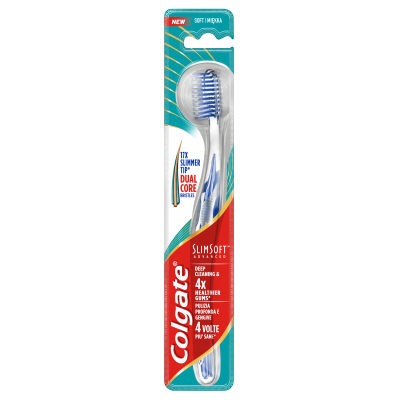 Colgate четка за зъби  Slim Soft Advanced блистер