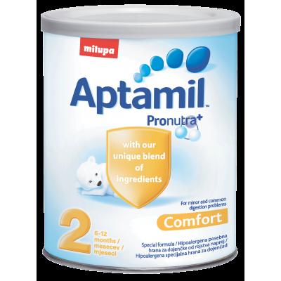 Aptamil Comfort 2 400g, 6m+, за храносмилателни смущения