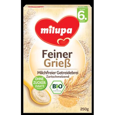 Milupa Био-безмлечна каша грис 250g, 6m+