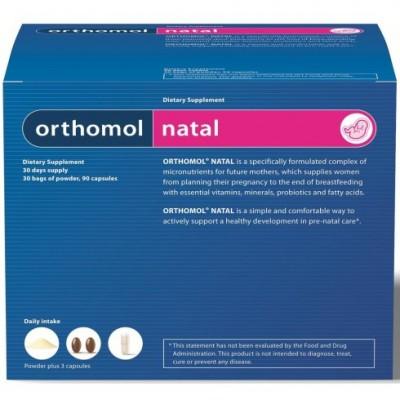 Orthomol Natal хранителна добавка 30 бр. кутия
