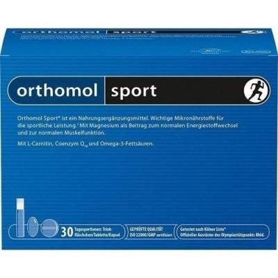 Orthomol Sport хранителна добавка 30 бр. кутия