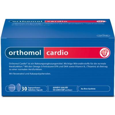 Orthomol Cardio хранителна добавка 30 бр. кутия