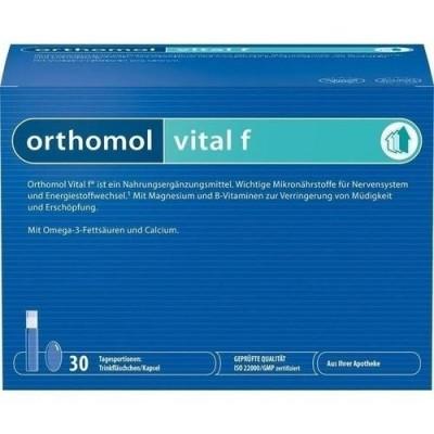 Orthomol Vital F хранителна добавка 30 бр. кутия