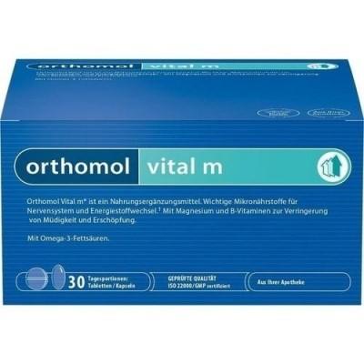 Orthomol Vital M хранителна добавка 30 бр. кутия