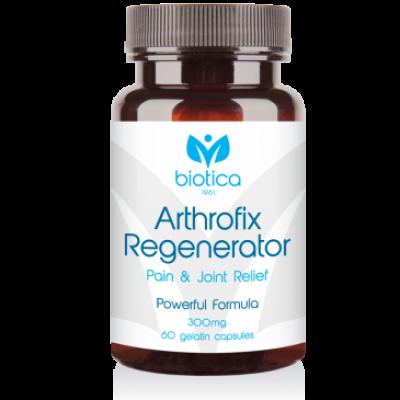 Biotica Артрофикс Регенератор /Arthrofix Regenerator/ - при артрози и ошипяване, 60 капсули