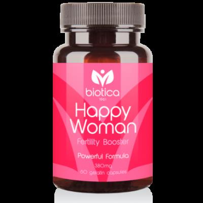 Biotica Хепи Уомън /Happy Woman/ - за женски фертилитет, 60 капсули