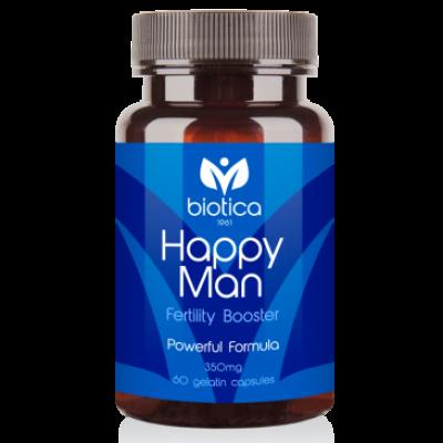 Biotica Хепи Мен /Happy Man/ - за мъжки фертилитет, 60 капсули