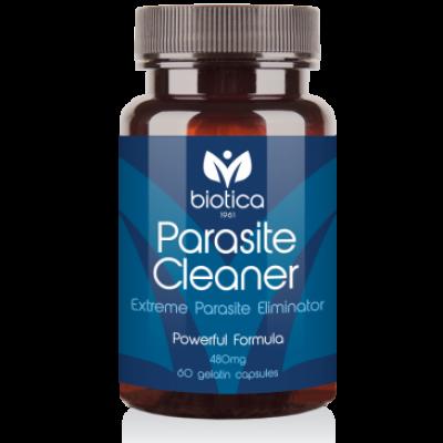 Biotica Паразит Клийнър /Parasite Cleaner/ - прочиства организма от паразити, 60 капсули