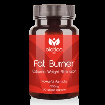 Biotica Фет Бърнър /Fat Burner/ - контролира теглото и апетита, 60 капсули