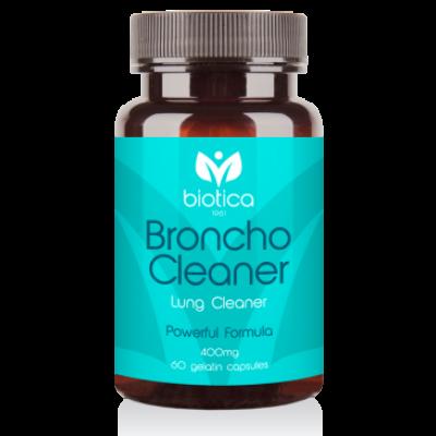 Biotica Бронхо Клийнър /Broncho Cleaner/ – за пречистване на белите дробове, 60 капсули