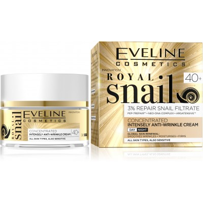 Eveline Royal snail дн/нощ крем 40+ , 50 мл