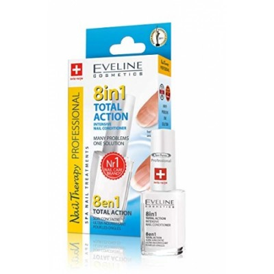 Eveline Nails интенз. Заздравител total action sensitive, 12 мл