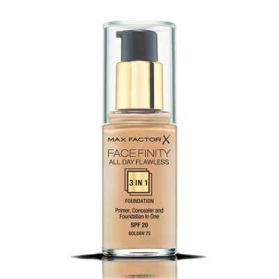 Max Factor фон дьо тен FACEFINITY ALL DAY FLAWLESS 3IN1 GOLDEN 75