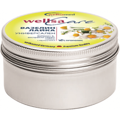 WellsaCare Крем-вазелин с лайка- универсален, 50 мл.