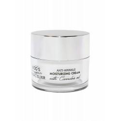 Vido's Health & Beauty Herbal Elixir  хидратиращ  крем за лице против бръчки с масло от канабис